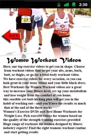 Women Workout Videos