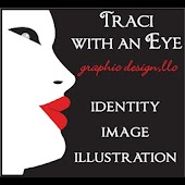 Traci with an Eye Graphics
