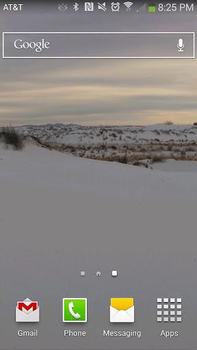 White Sands Live Wallpaper