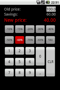 Discount Calculator - Simple screenshot 1