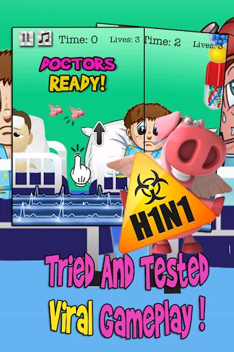 【免費角色扮演App】Flappy Swine Flu Super Bug-APP點子