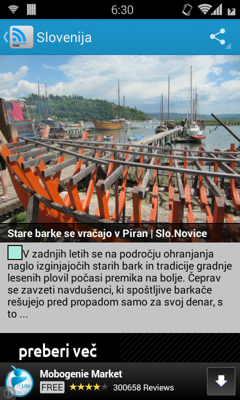 Slovenian News - screenshot