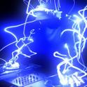 Crazy Neon DJ Live Wallpaper icon