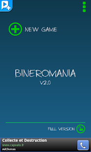 Bineromania - screenshot thumbnail