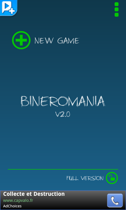 Bineromania - screenshot