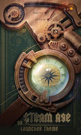 Steam age GO Launcher Theme