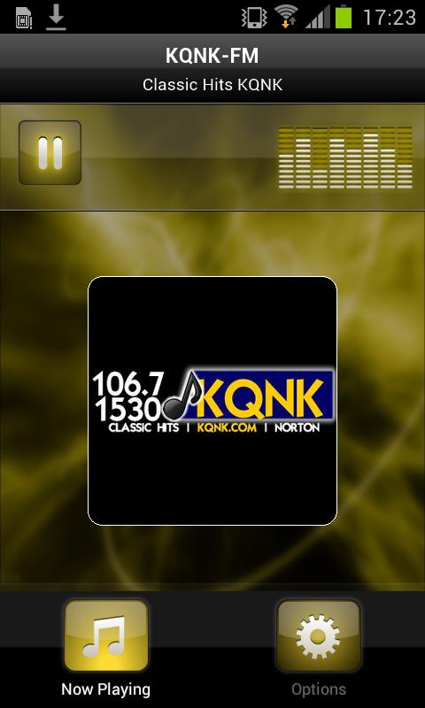 KQNK-FM - screenshot