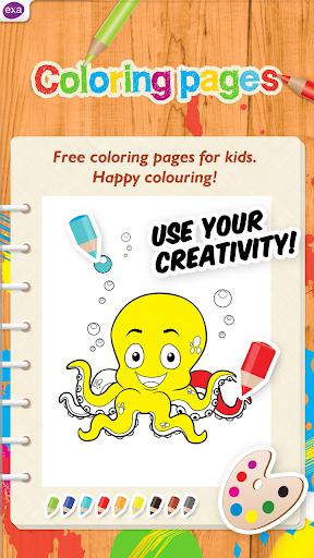 孩子着色页