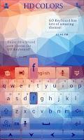 Screenshot of HD Colors GO Keyboard Theme