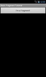 Basic Fragment Tutorial