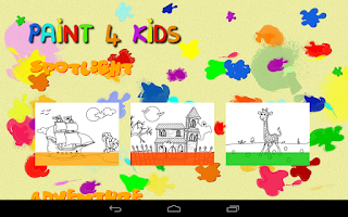 Screenshot of Paint 4 Kids