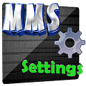 MMS settings - Data Help icon