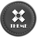 Leather Grey Theme icon