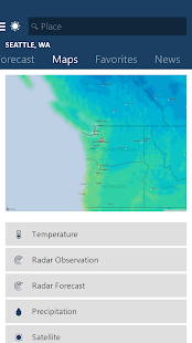 MSN Weather – Forecast & Maps 2
