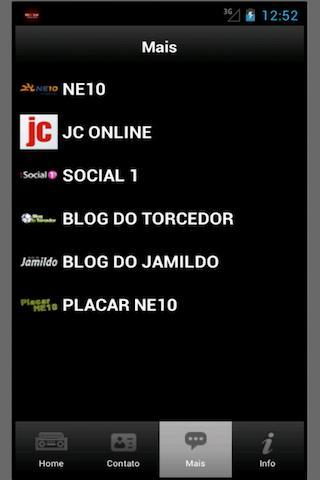 Rádio Jornal AM - Recife, Pern - screenshot