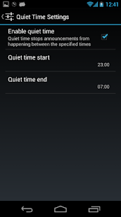 Audio Clock - screenshot thumbnail