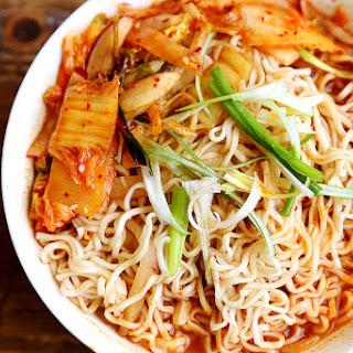 Healthy Homemade Kimchi Ramen