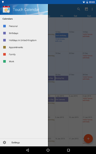 Touch Calendar Free  screenshots 11