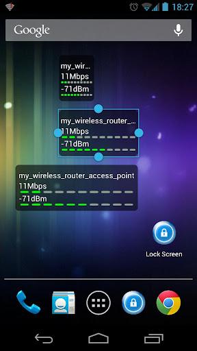WiFi状态(连接速度)监测器