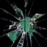 Broken glass screen Joke 8