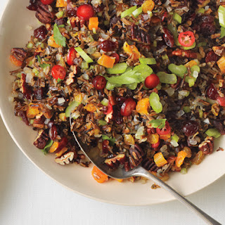 Wild Rice, Fruit, and Pecan Stuffing Recipe