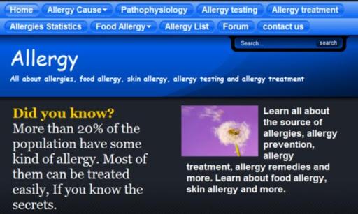 Allergy pollen mulberry asthma