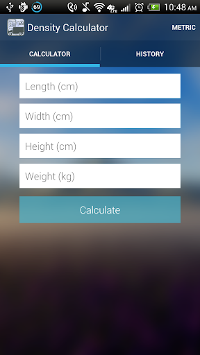 Freight Density Calculator