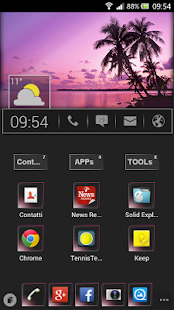 UCCW Skin - Home Bar - screenshot thumbnail