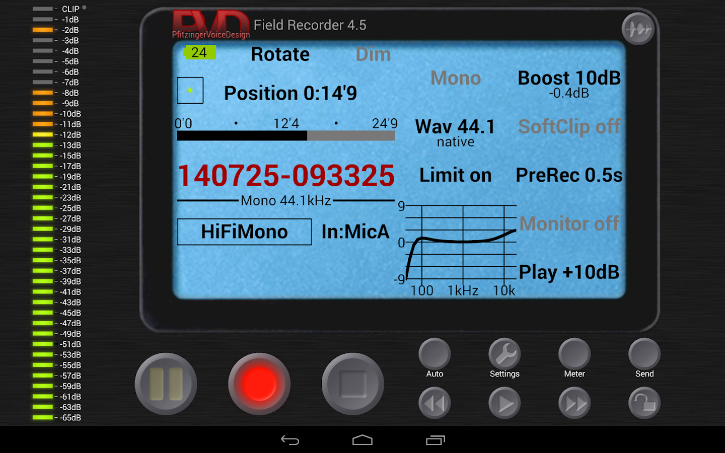 Field Recorder- screenshot