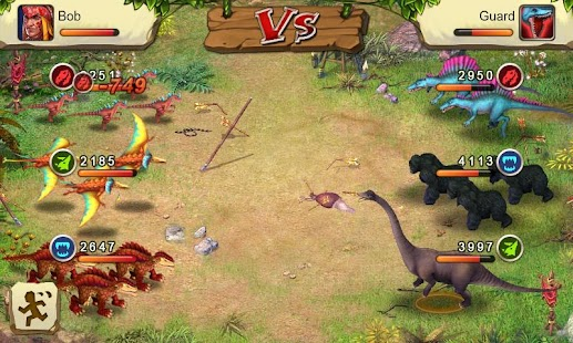 Dinosaur War- screenshot thumbnail