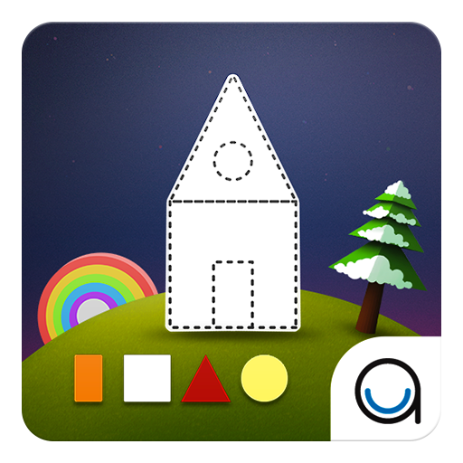 Square Shape: First Kid Puzzle 教育 App LOGO-APP開箱王