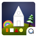 Square Shape: First Kid Puzzle icon