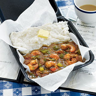 South Carolina Shrimp Gravy and Grits from Grits and Groceries.