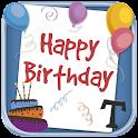 Criar cartões de aniversário icon