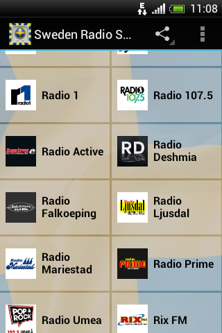 Sweden Radio Stations - screenshot