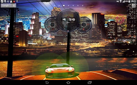 Cars Live Clock Wallpaper screenshot 5
