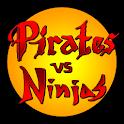 Pirates vs Ninjas Deluxe TD logo