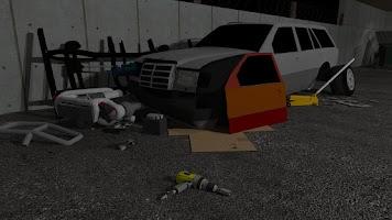 Screenshot of Fix My Car: Zombie Survival LT
