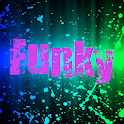 Tablet  LWP Wallpaper Funky icon
