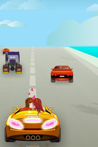 Crazy Car Kissing Game - screenshot