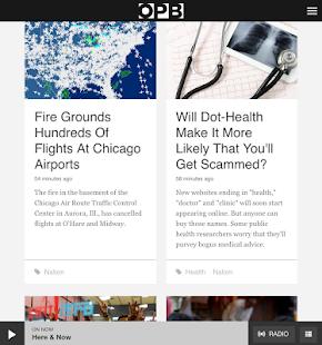 OPB News - screenshot thumbnail