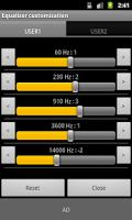 Screenshot of Moty Folder Player