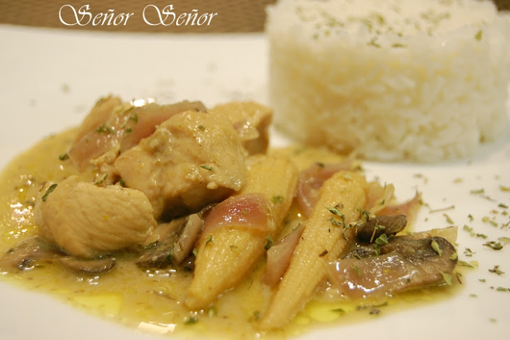 Green Curry Chicken with Vegetables Recipe