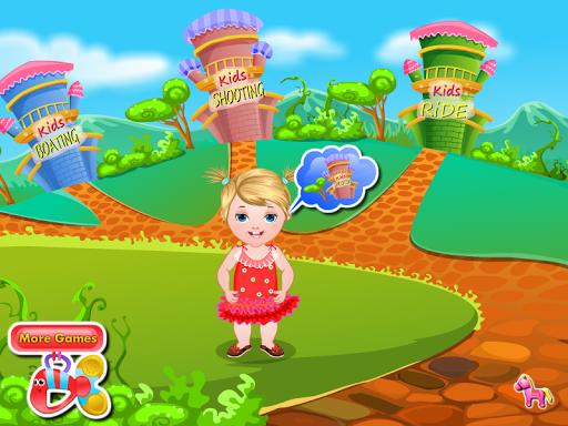 艾丽西亚 婴儿护理的游戏