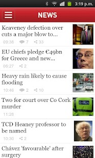 Irish Times News - screenshot thumbnail