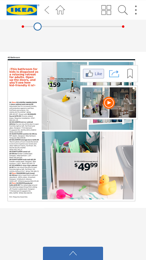 IKEA Catalogo - screenshot