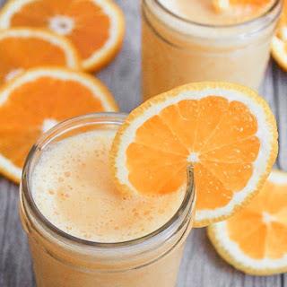 """Vegan """"Orange Julius"""" Smoothie."""