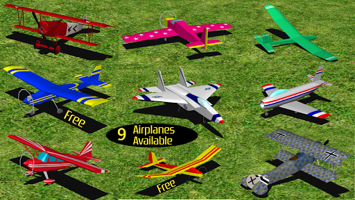 RC-AirSim - RC Model Plane Sim APK 1.01 screenshots 1