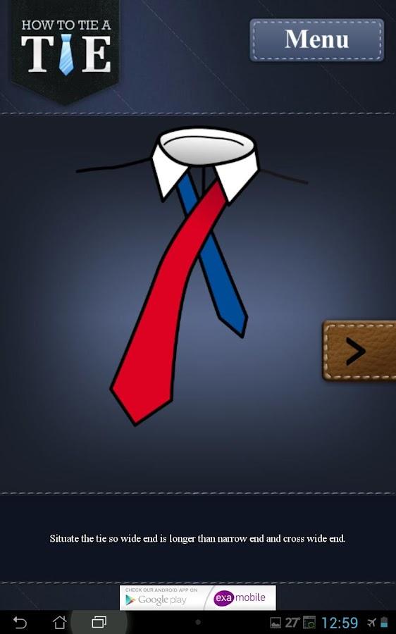 krawatte bindet wie sexy sein android apps auf google play. Black Bedroom Furniture Sets. Home Design Ideas