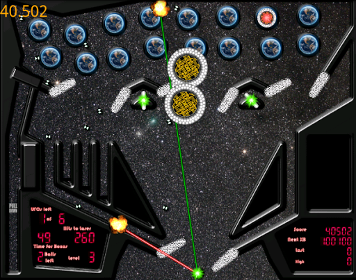 Space Laser Multiball Pinball